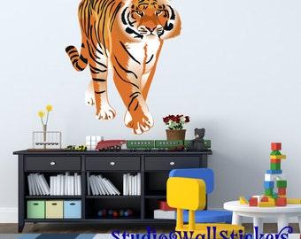 REUSABLE Tiger Wall Decal EXTRA LARGE