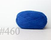 WOOL yarn 100%-knitting yarn -  azure blue #460