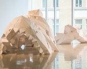 SCHABRAKENTAPIR / paper sculpture