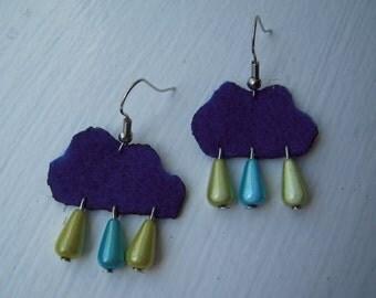 Originals felt earrings