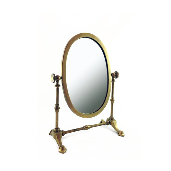 brass bathroom mirrors antique brass mirror table top vanity mirror 12158