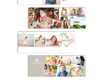 Facebook Timeline Cover Templates - Family Photography Bundle - 1304
