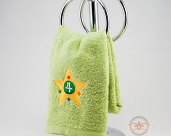 "Sailor Moon ""Sailor Jupiter"" Inspired - Embroidered Hand Towel"