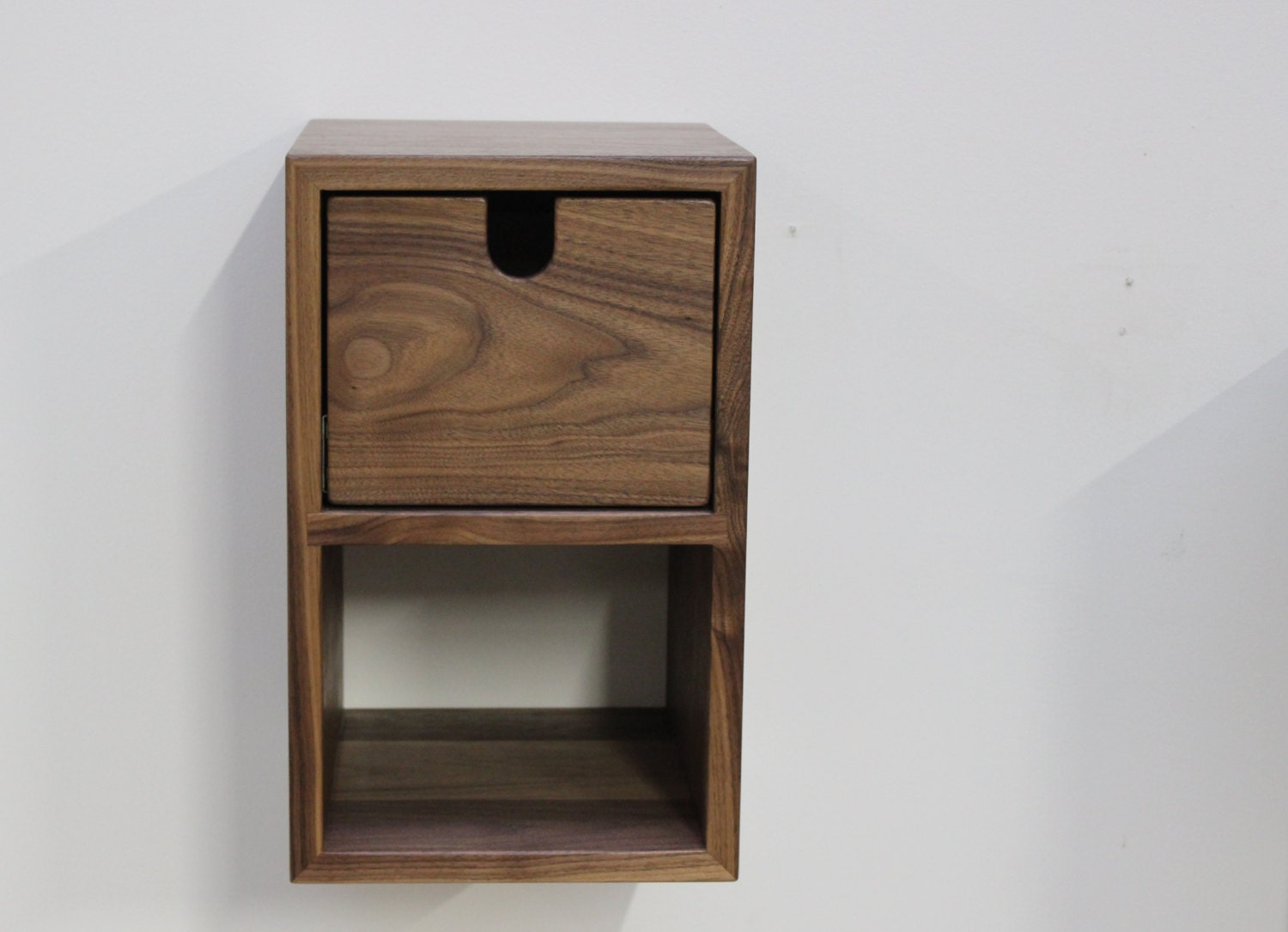 floating nightstand small compact