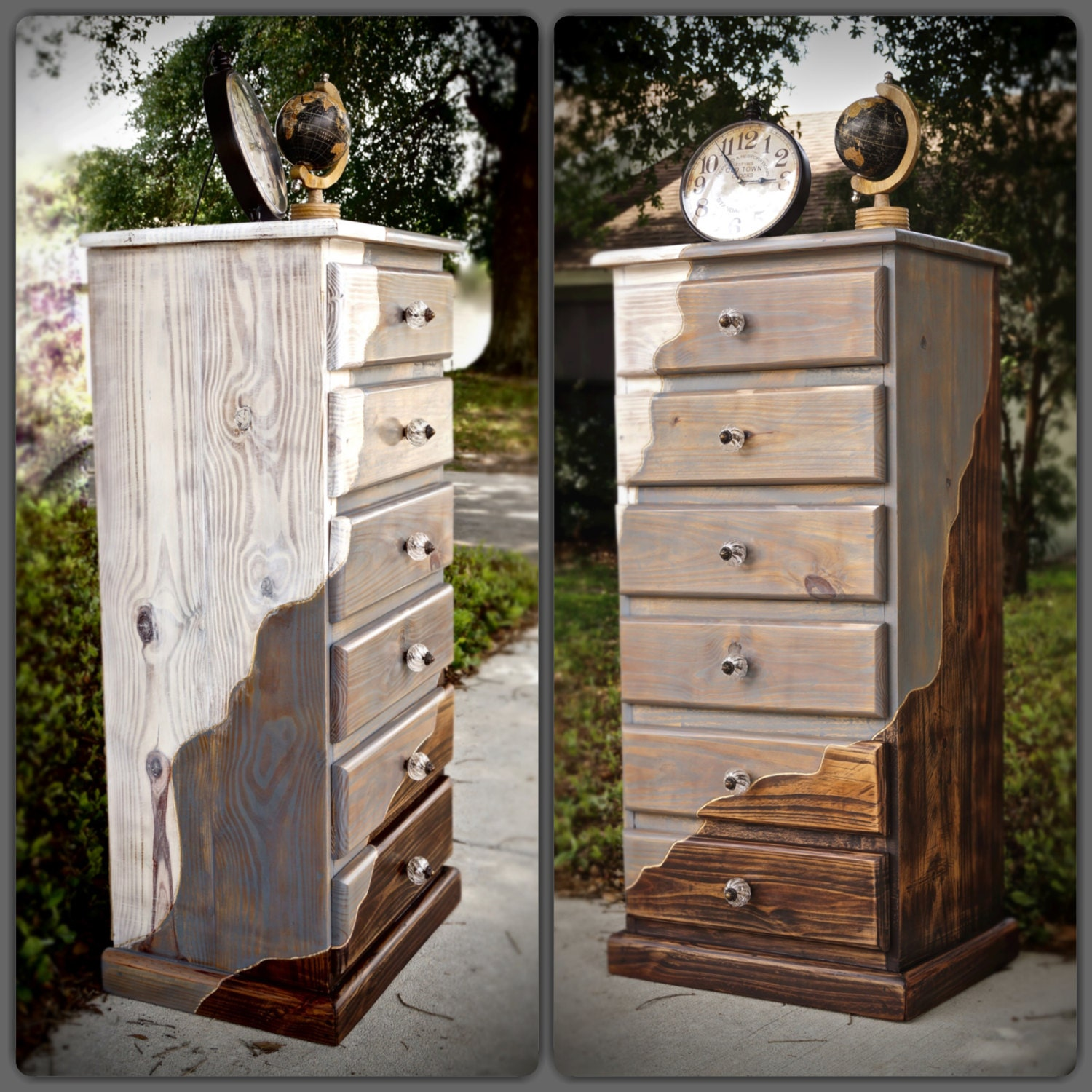 available for sale 6 drawer wooden dresser by lmodesigngroup. Black Bedroom Furniture Sets. Home Design Ideas