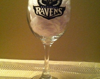 Baltimore Ravens Glass