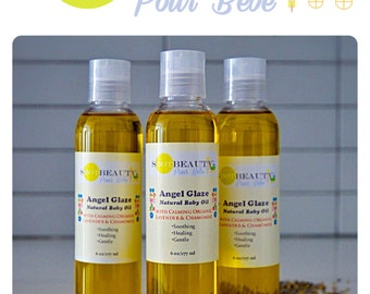 Angel Glaze All Natural Baby Oil