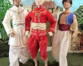 ALLADIN  A PATTERN for  Exotic Outfits Tonner Matt and 17 inch dolls JamieShow and all like dolls