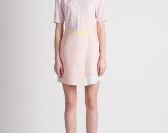 30% Season Off_Feldblume A-structural Mini Dress_Baby Pink