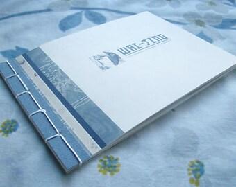 Illustration portfolio - handmade art book, graphic design work sample resume