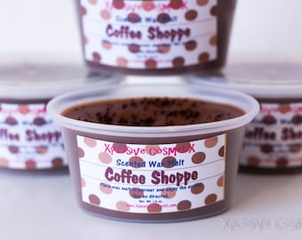 Coffee Shoppe Scented Wax Melt Wax Tart - Highly Scented Wax Melts - Para Soy Wax Melt - Home Fragrance - Scent Shot