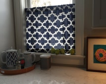 Cafe Curtain 30 Color choices Moroccan Fabric, Curtains, Trellis, Kitchen Curtains, Window Treatments, Bathroom Curtain