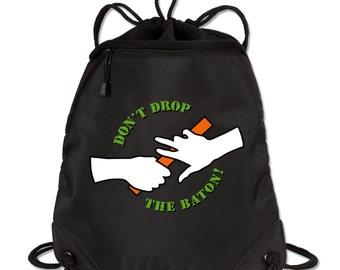 Don't Drop the Baton!  Cinch Bag