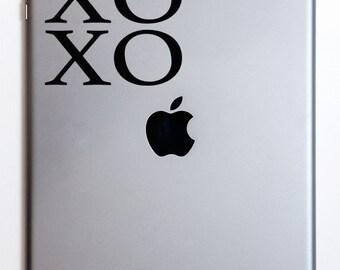 XOXO Love iPad Decal