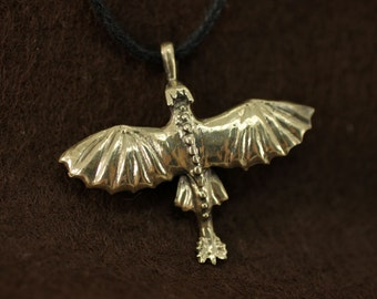 Toothless httyd pendant necklace How to train your dragon