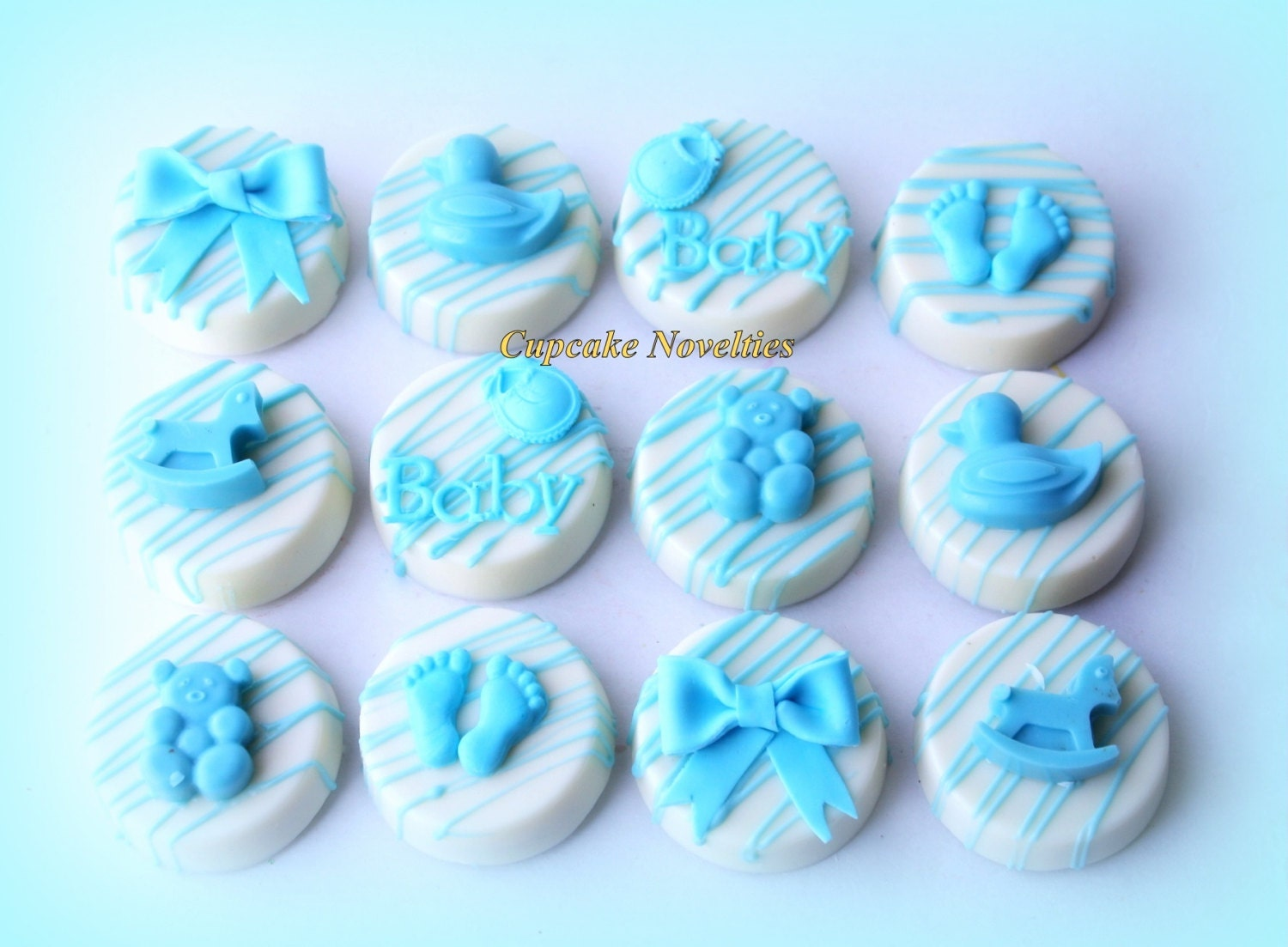 Baby Shower Cookies Boy Baby Girl Baby Things Chocolate Oreos