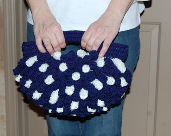 Crochet Curly Que Purse
