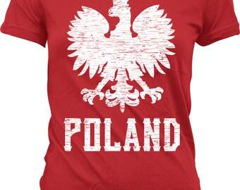 Polish tshirt etsy for Polish t shirts online