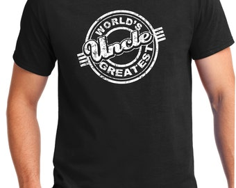 UNCLE SHIRT, Worlds Greatest Uncle, Uncle Shirt, Going To Be an Uncle, Uncle Gift, New Uncle