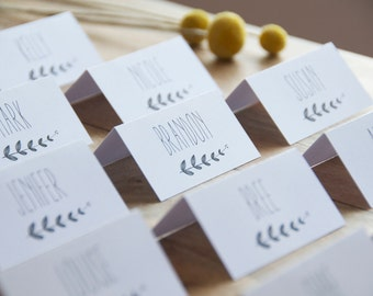 Wedding Place Cards, Escort Cards, Wedding Name cards - Digital download