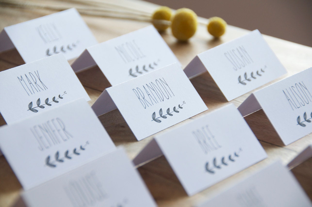 wedding placement card templates