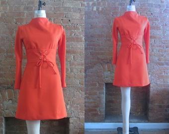 1960s Jonathan Logan scooter dress | 60's Mod Twiggy London | S to M | Judy Jetson