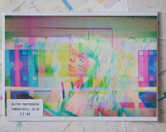 "Glitch Art print ""amy4.jpg"""