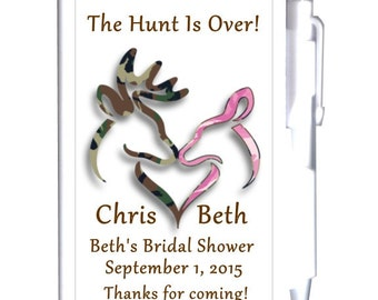 24 Buck and Doe Bridal Shower Notebook Favors