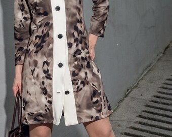 Dress, NYC, Jersey, Partikleid, women dress, clothing for women, designer dress, mini dress