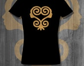 Tshirts Sankofa T shirt African Symbols Adinkra T-shirt Plus Sizes Afrocentric Clothing African Shirt Adinkra Symbol tees homemade custom