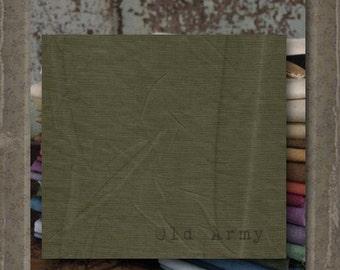 Fabric 1 YARD: Aged Muslin Cloth (New) - OLD ARMY 164 Marcus Fabrics