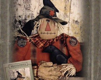 Pattern: Corn Keeper Scarecrow by Homebodies