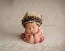 Newborn crown, Max crown,Newborn boy Photo prop, max photo prop, newborn boy hat , newborn boy  photo prop costume, Max Costume