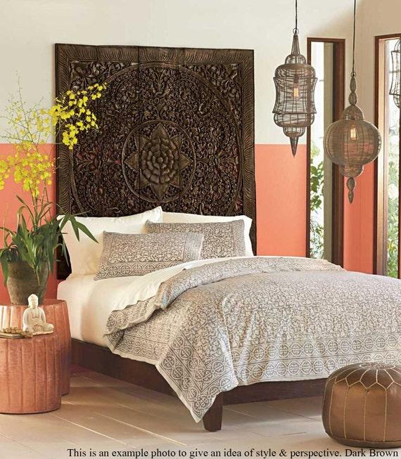 Balinese Wood Wall Art. Teak Wood Decor Hanging By SiamSawadee