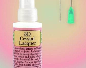 3D Crystal Lacquer Glaze Sakura Craft 2 Ounce Starter Kit DIY Pendants Jewelry ScrapBooking Free Shipping