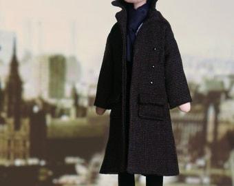 Sherlock Holmes - handmade doll from BBC series Sherlock
