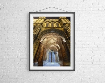 Fine Art Photography Print - Travel - Cathedral Door -  Lincoln, UK