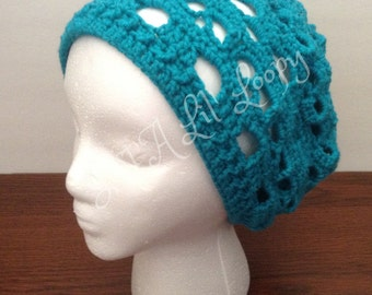 Crochet Skull Beanie (Available in Many Colors)
