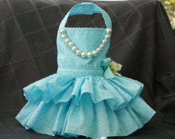Turquoise dog dress  Etsy