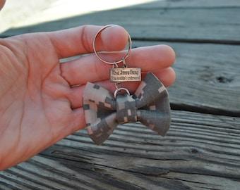 Army Bow Key Chain