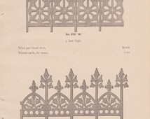 1894 Architectural Cresting, Finials and Jackets
