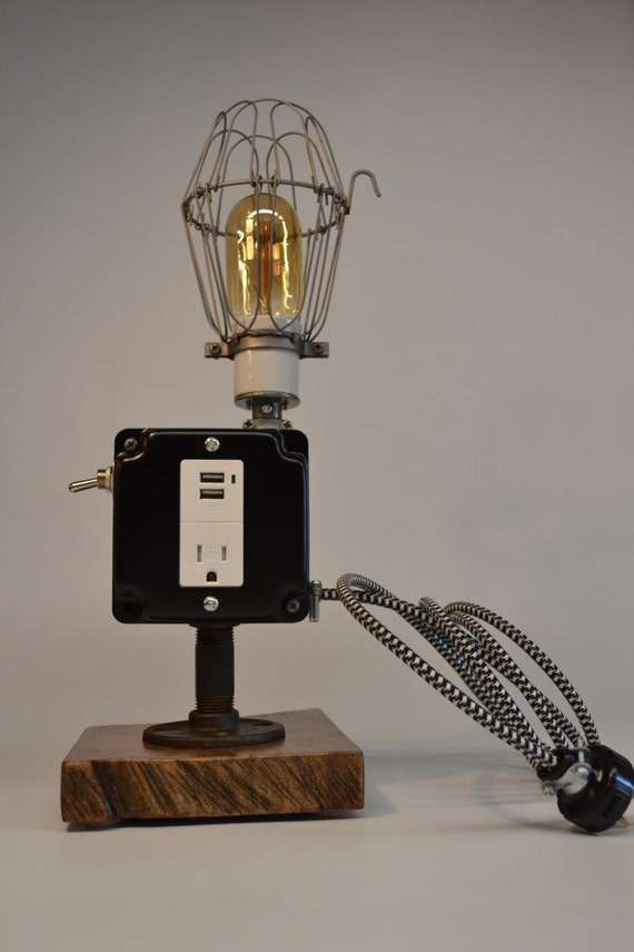 Table Lamp With Iphone Charger Best Inspiration For