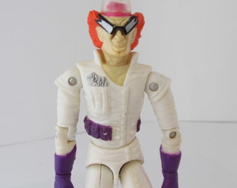 Cops N Crooks Dr.Badvibe Hasbro Toy Figure 1988