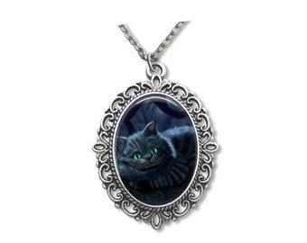 Necklace Cheshire Cat - Alice in Wonderland