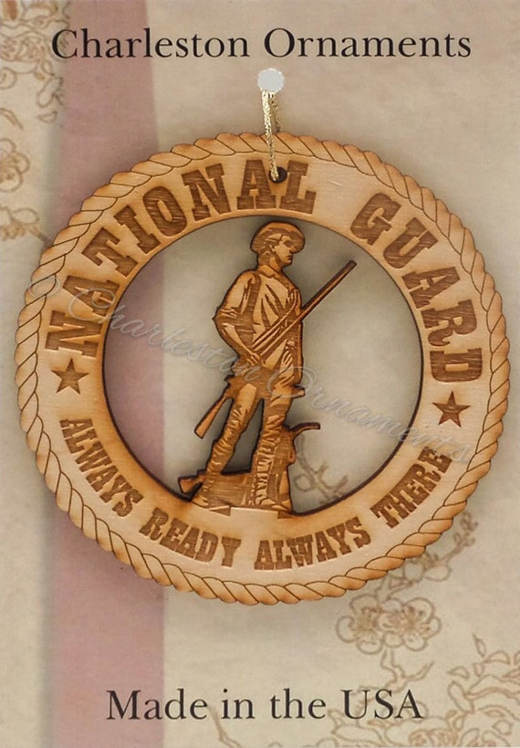 National Guard National Guard Ornament