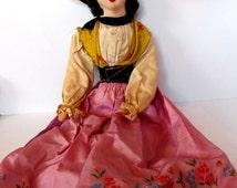 Beautiful Rare Antique Gypsy Boudoir Doll   /MEMsArtShop.