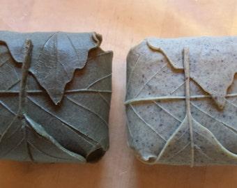 Organic leaf soap
