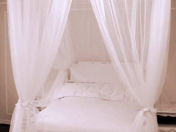 Bed Canopy With Curtains Twin Size Free By Thefiligreefern