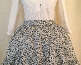 Blue Baroque Lolita Skirt