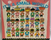 Walt Disney It's A Small World LP DQ1289 Folk Songs